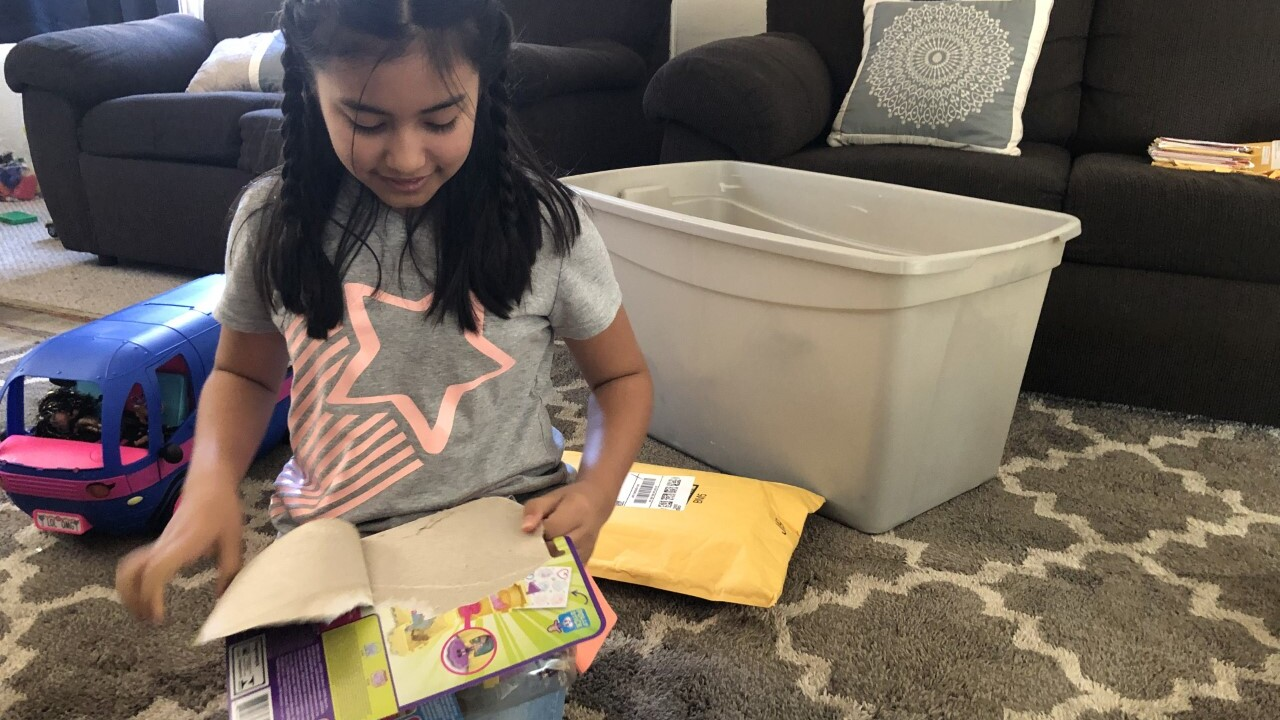10-year-old Arroyo Grande girl receives birthday cards from people around the world
