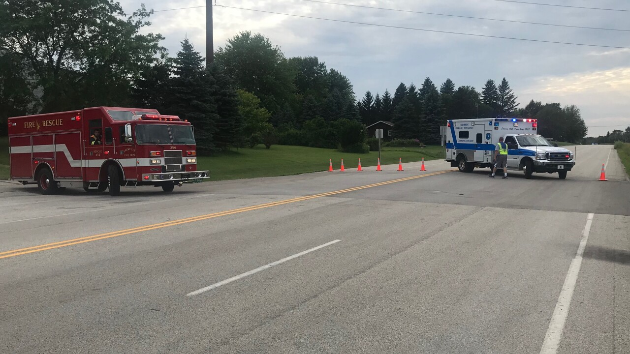 UPDATE: One person has died after a motorcycle crash near