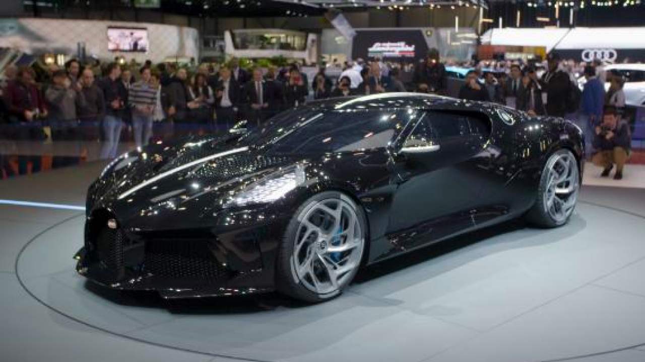 A record $19 million has been paid for the most expensive new car ever sold: A Bugatti