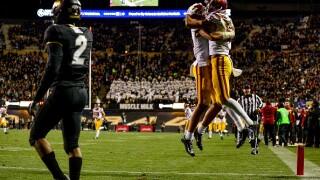 USC roars to a 35-31 comeback win over CU