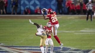 49ers Chiefs Super Bowl Football Kendall Fuller
