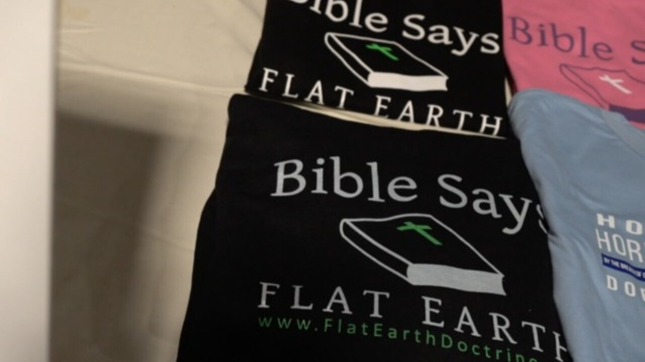Hundreds of 'flat Earth' believers gather at Denver conference