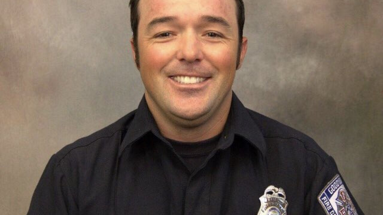 Community gathers to remember Goodyear firefighter Austin Peck