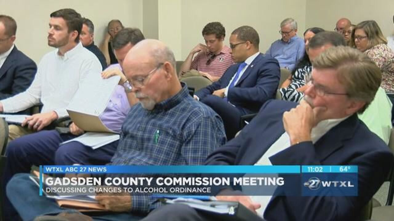 Gadsden County commissioners table discussion about changes to alcohol  regulations 188317a359