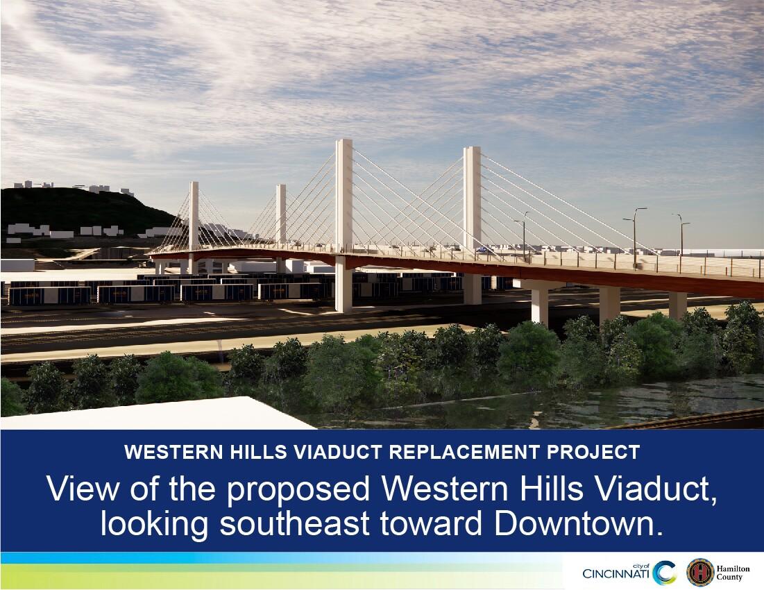 southeast Western Hills viaduct rendering