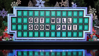 Vanna White fills in as 'Wheel' as Pat Sajak has emergency surgery