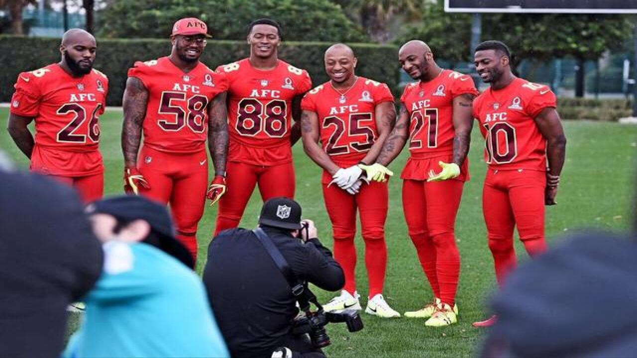 a3b8df772f7 The Broncos had six players in the Pro Bowl