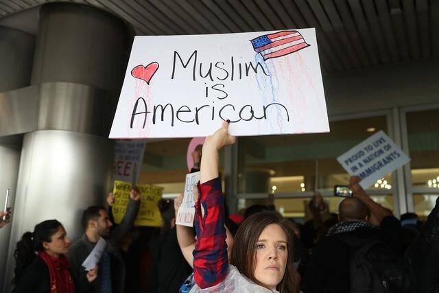 Photos: Protests erupt nationwide over immigration order