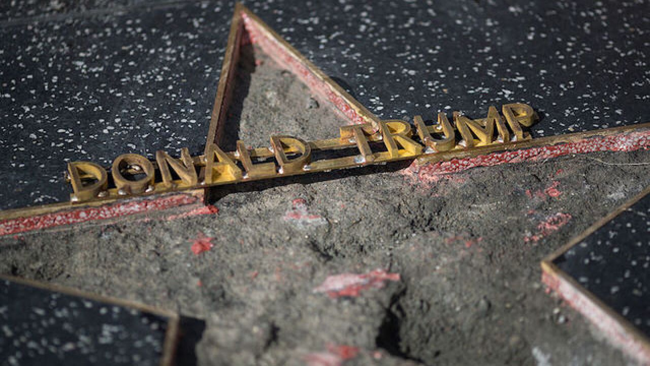 City of West Hollywood calls for Trump Walk of Fame star to be removed