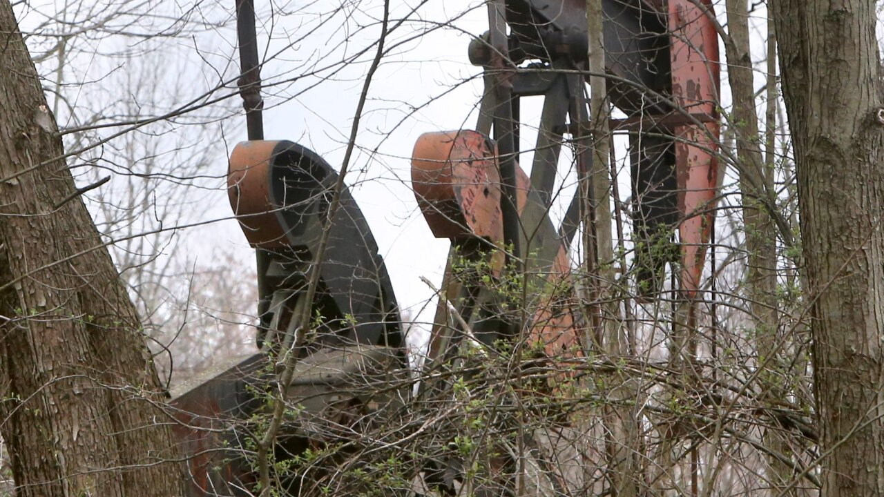 humans remains at oil field in Stark County.