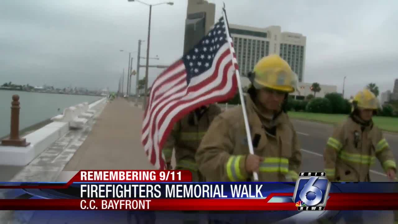 RTFD conducts memorial walk to remember 9-11 victims
