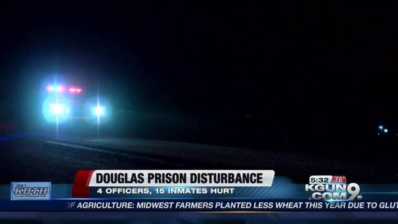Riot at the AZ State Prison Complex in Douglas