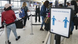 TSA airport creening