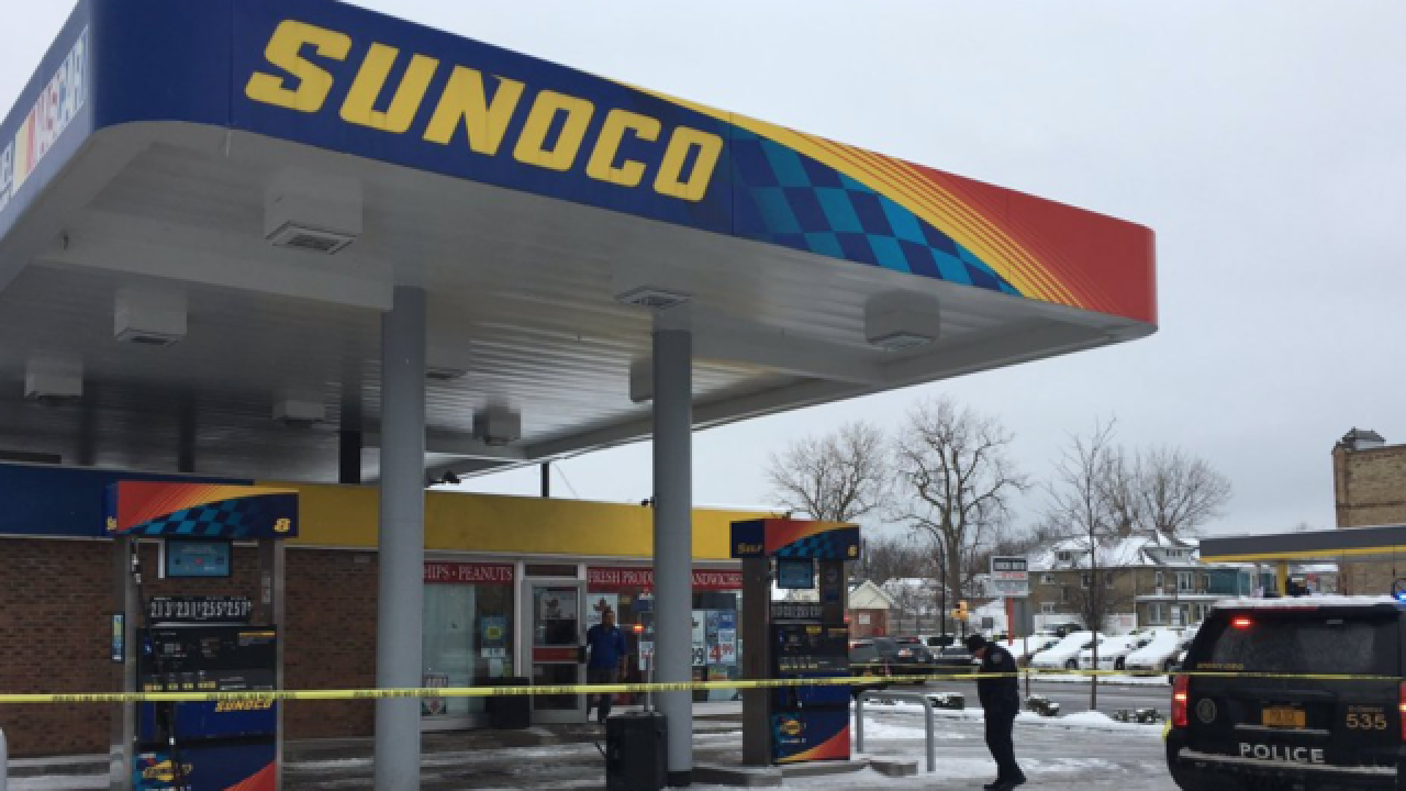Shooting at North Buffalo gas station, 1 hurt
