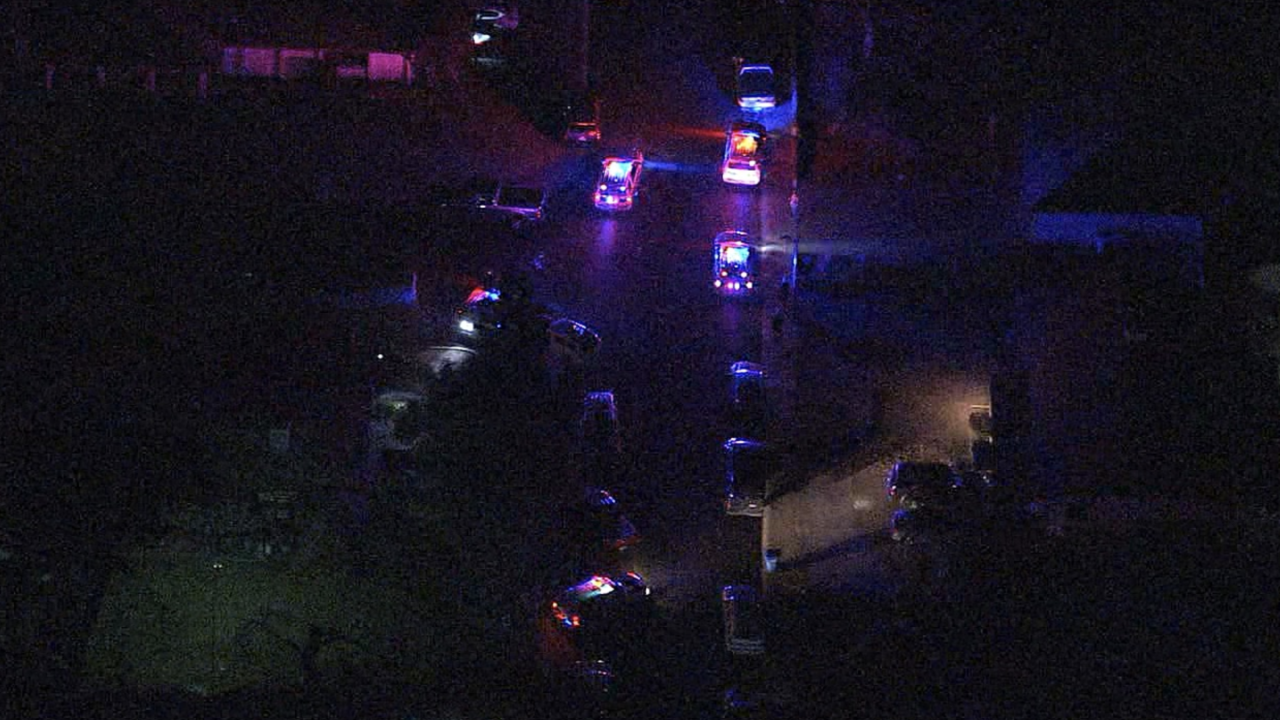 Phoenix police say a shooting in a home left four adults dead and one man wounded. Police say it wasn't immediately known what prompted Tuesday night's shooting but that the five people were all believed to be related and that no suspects were being sought.