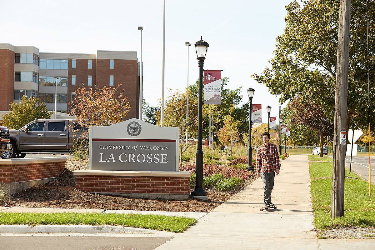 UW-La Crosse offers the fifth best value for Wisconsin college education.
