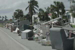 What happens To hurricane debris?