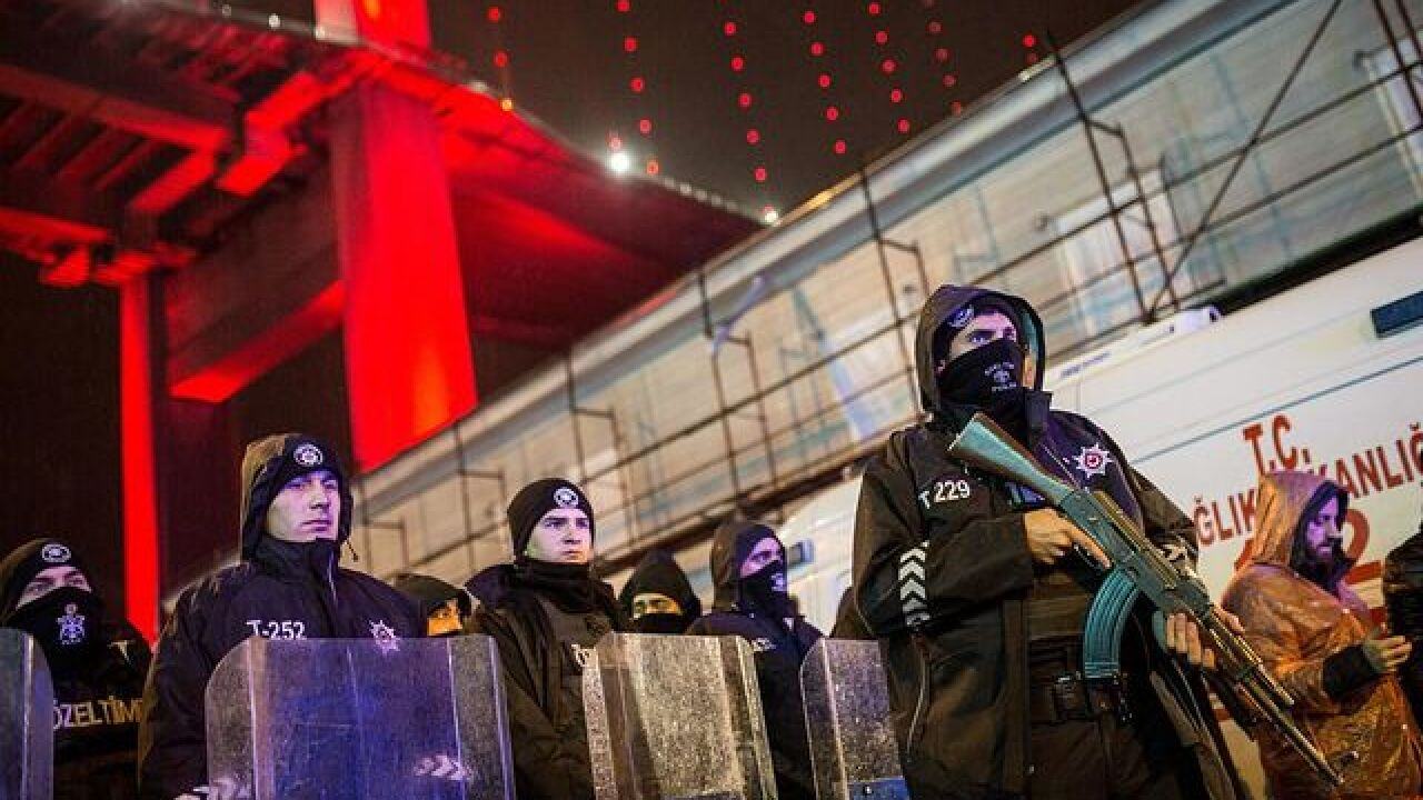 At least 35 dead in attack on Istanbul nightclub