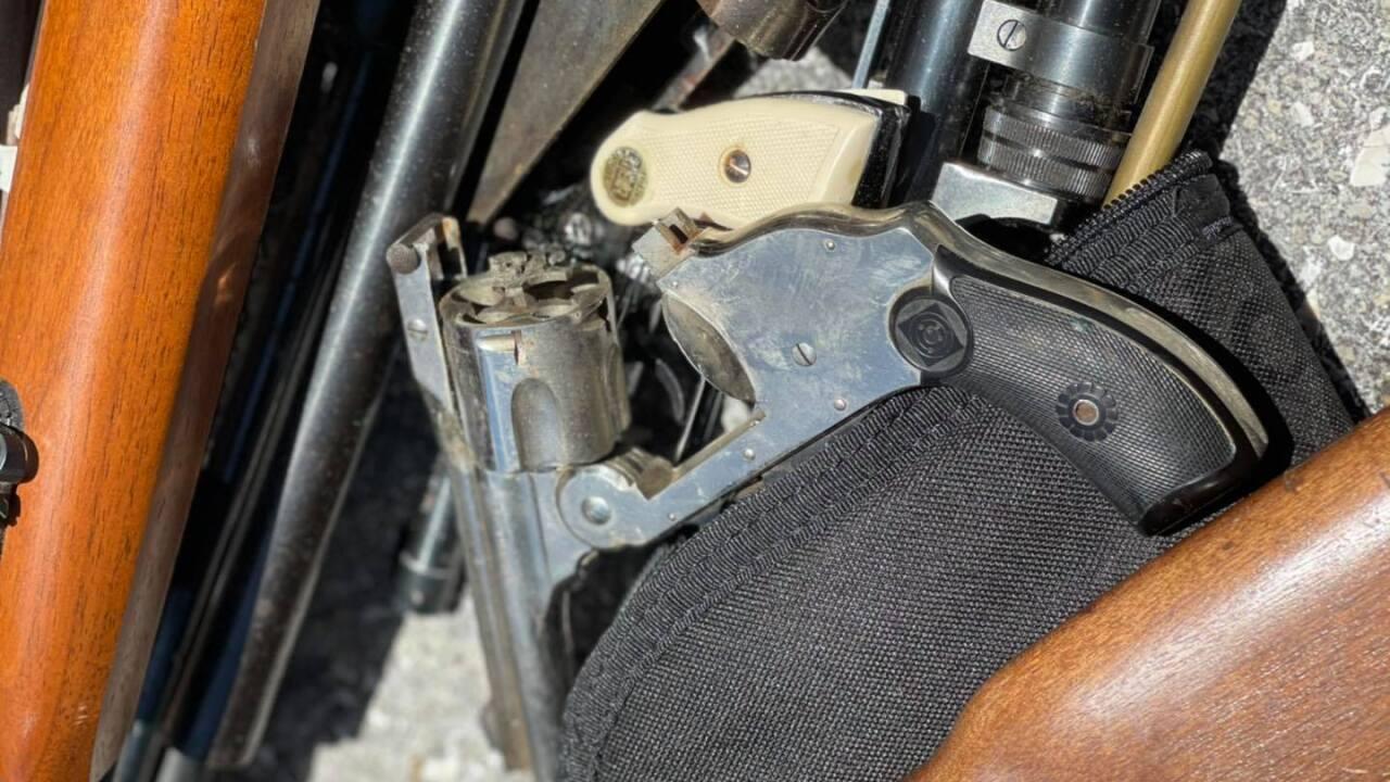 A gun buyback program was held Saturday in Boynton Beach.