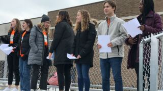 Students to hold walkout in protest of gun violence in schools