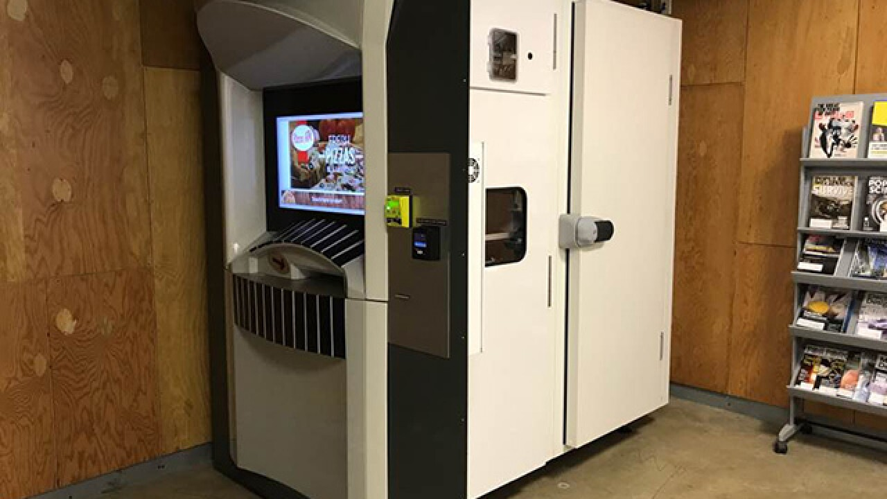 Nation's second pizza ATM is now in Cleveland
