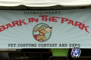 'Bark in the Park' attracts hundreds to Cole Park