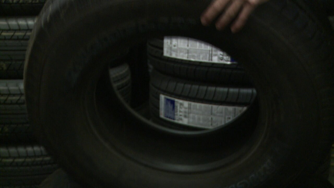 Huge number of defective tires that were recalled still on road