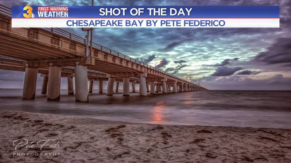 Photos: Chief Meteorologist Patrick Rockey's Shots of the Day