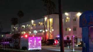 Fire sprinklers extinguish Annaville motel fire
