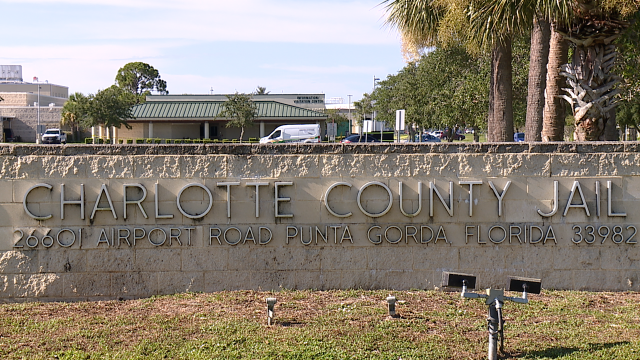 Dead body found outside Charlotte County Jail visitation