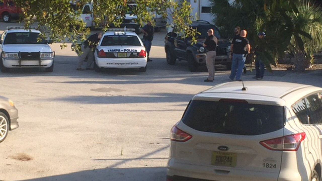 Tampa police respond to tip at McDonald's