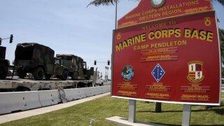 Marine killed, 18 injured in accident at Camp Pendleton inCalifornia