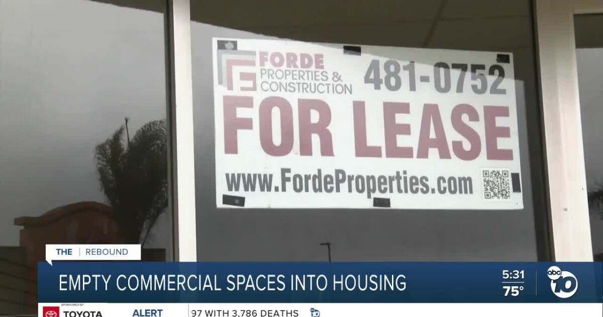Can California's empty commercial space be turned into housing?