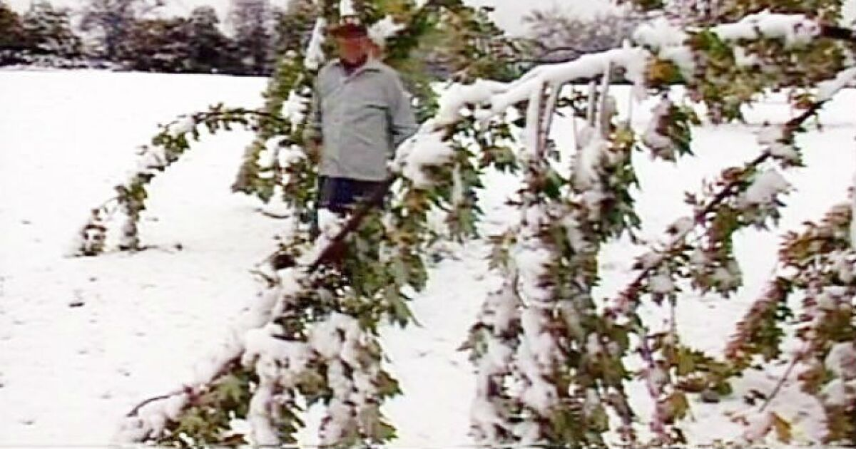30 years ago today, surprise snowstorm dumped 5 inches