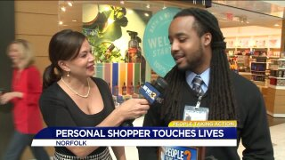 Norfolk personal shopper helps those with disabilities enjoy the mall