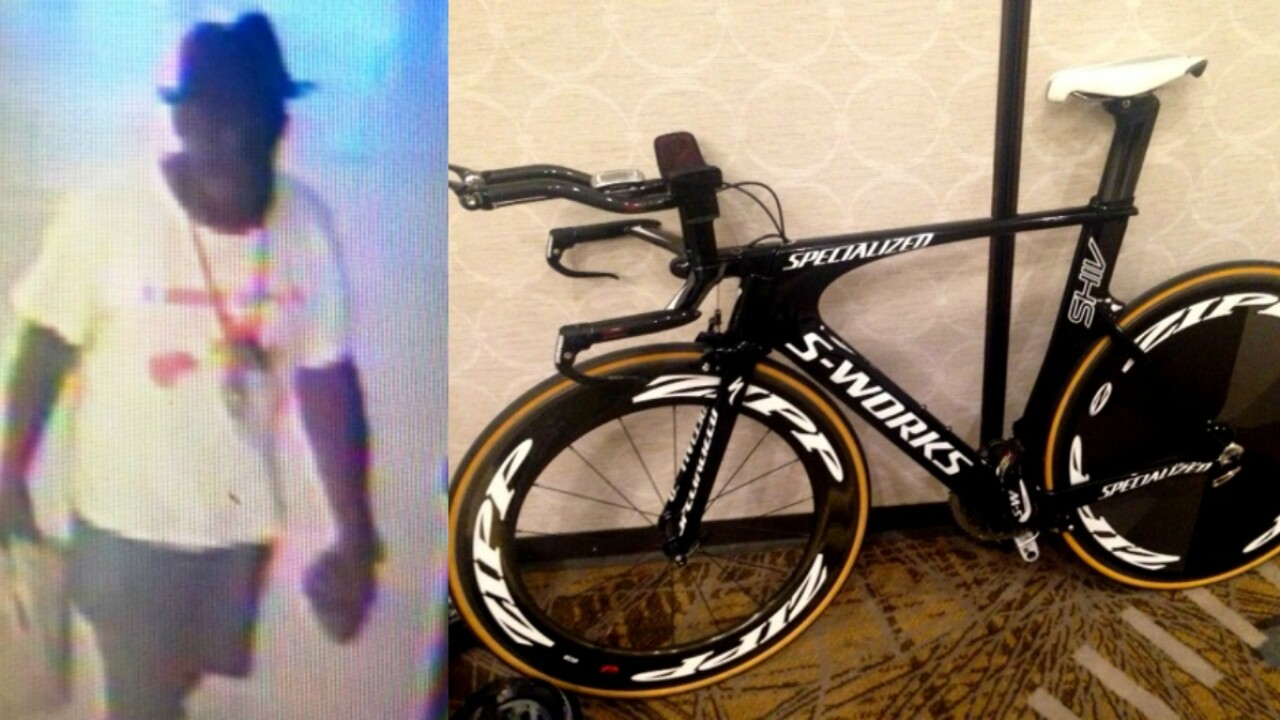 Richmond 2015 bicycle, valued at more than $10,000, stolen from downtownMarriott