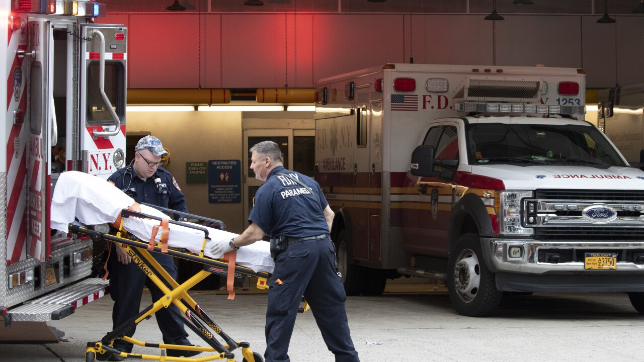 Virus Outbreak New York Hospitals