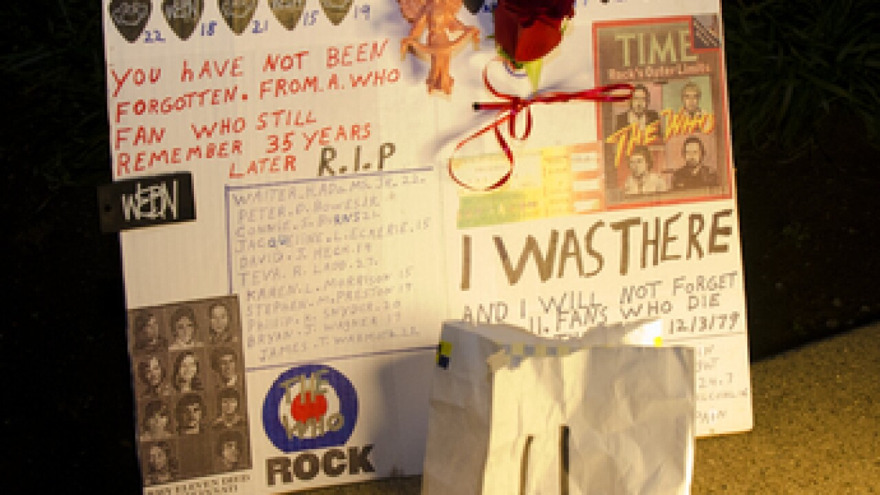 Remembering 35th anniversary of The Who tragedy