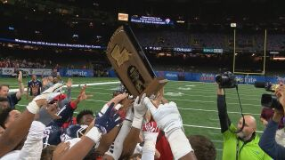 LCA claims second football title in 56-7 rout of Ascension Catholic