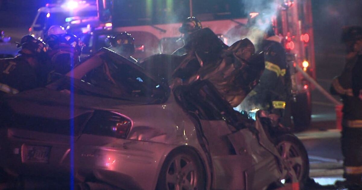 One person killed, another critical in crash on Indy's east side