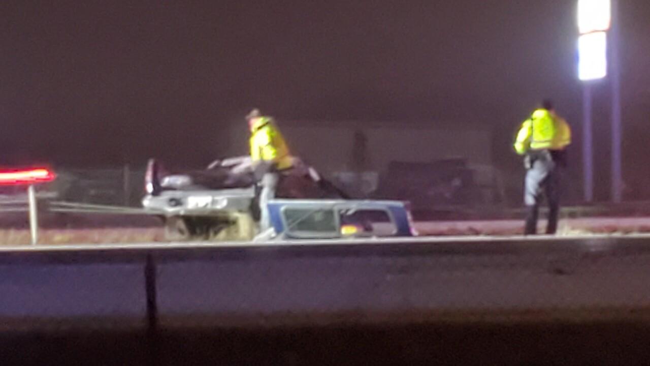 Rollover crash on I-41