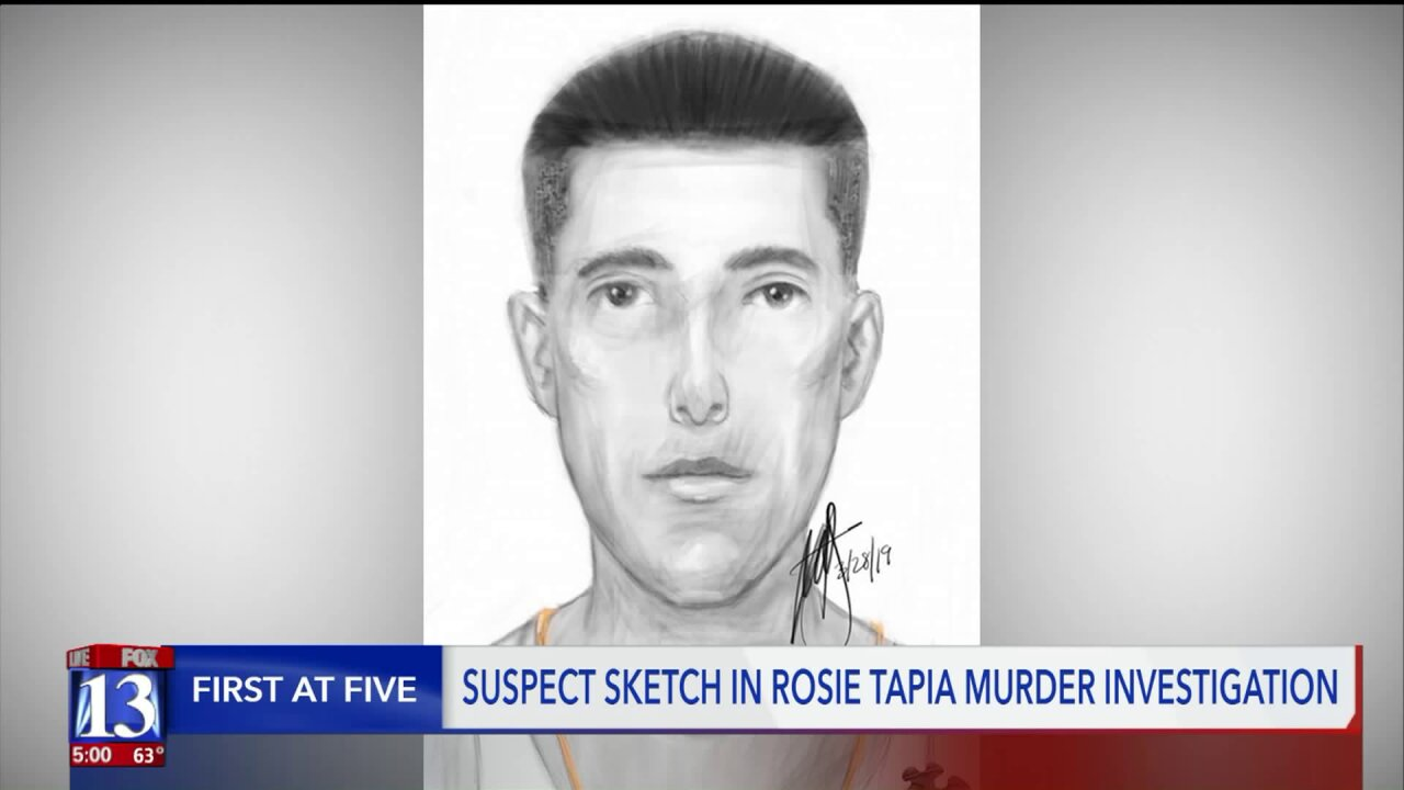 Suspect sketch could breathe new life into Rosie Tapia coldcase