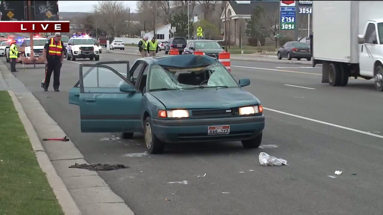 Woman in critical condition after being hit by car inMagna