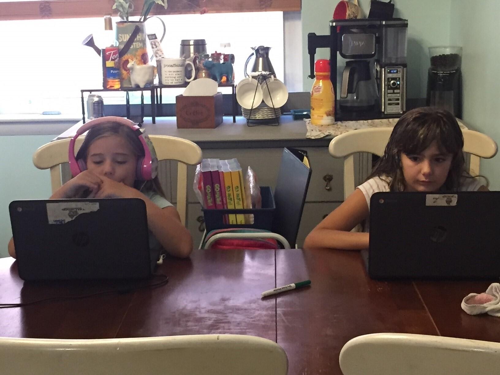 Lyllah 3rd grade & Isabella 5th grade. Tallwood elementary..jpg