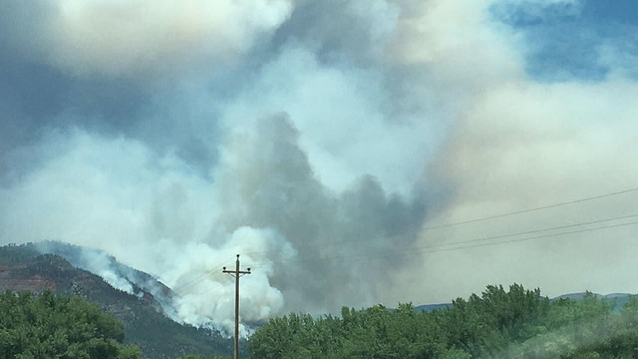 416 Fire in SW Colorado grows over 8,600+ acres