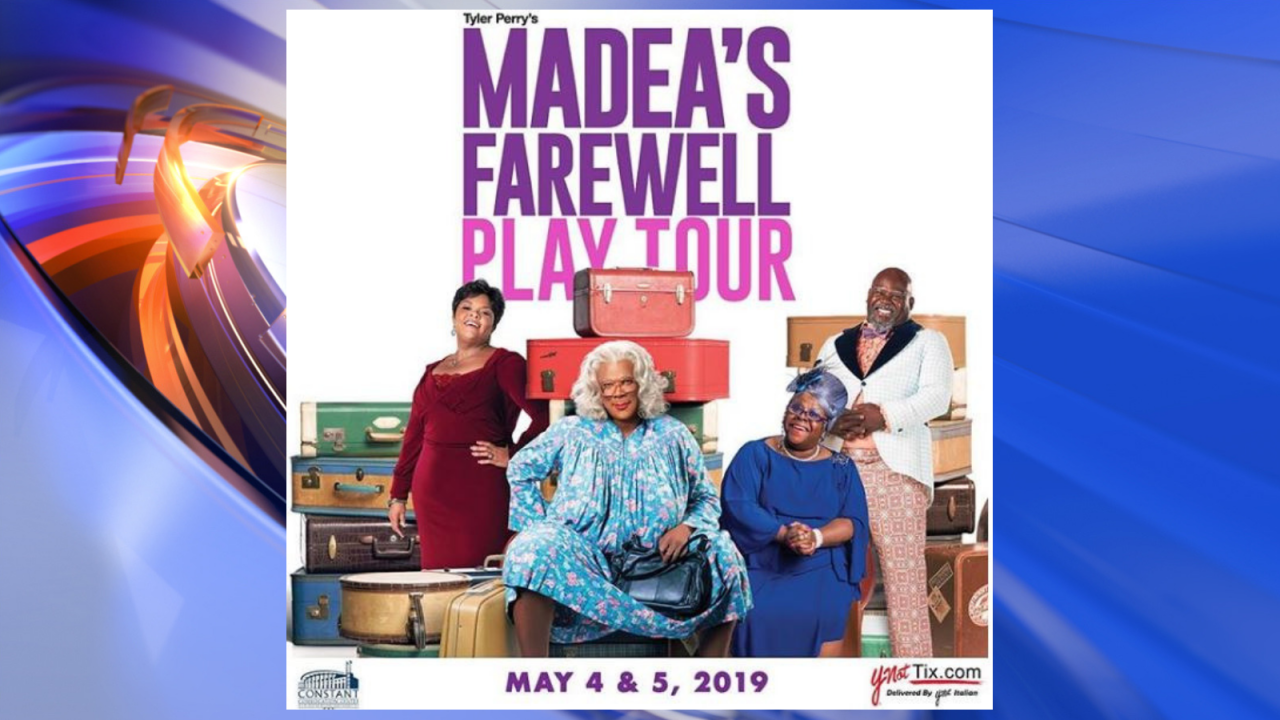 Tyler Perry to bring final 'Madea' stage play tour to Norfolk in 2019