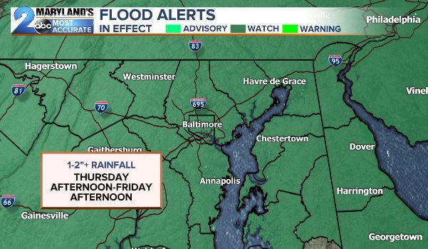Flood Watch Thursday-Friday