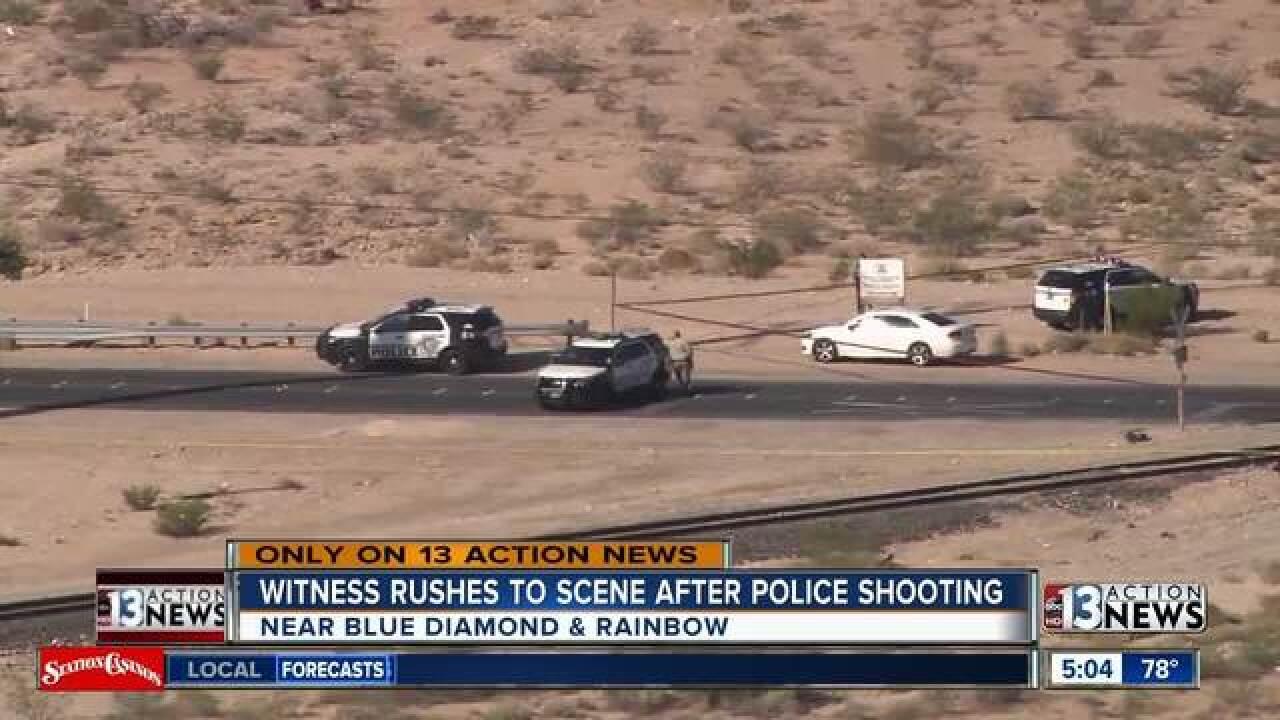 Police on scene of shooting involving officer