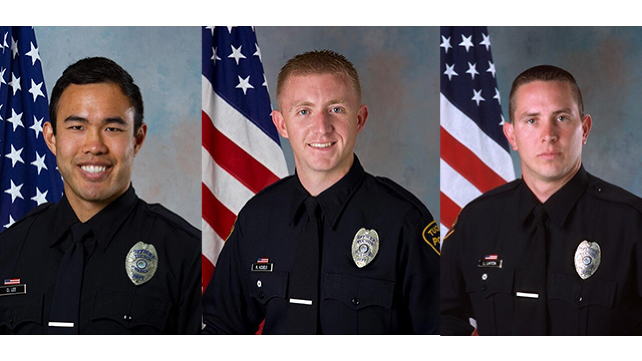 SWAT Officers save a life