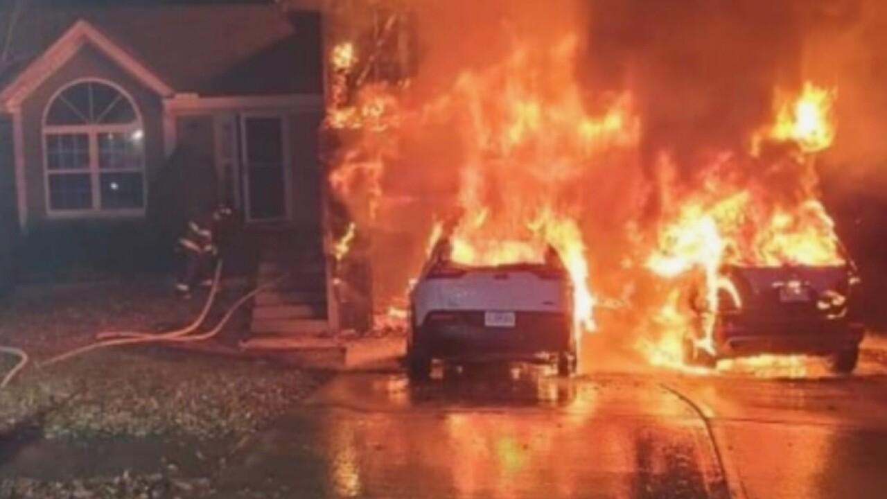 Doorbell camera captures terrifying house fire in Kansas City
